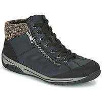 Zapatos Mujer Botas de caña baja Rieker L5223-00 Azul