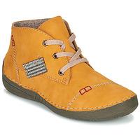 Zapatos Mujer Botas de caña baja Rieker PHILOMENA Amarillo