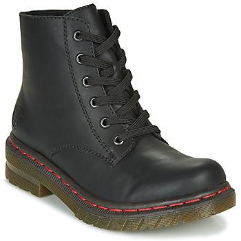 Zapatos Mujer Botas de caña baja Rieker 76240-00 Negro