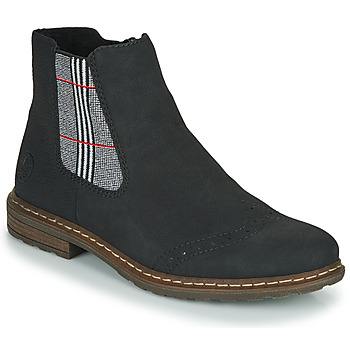 Zapatos Mujer Botas de caña baja Rieker 71072-02 Negro / Multicolor