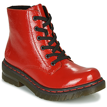 Zapatos Mujer Botas de caña baja Rieker 76240-33 Rojo