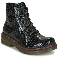 Zapatos Mujer Botas de caña baja Rieker 76246-00 Negro