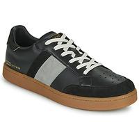 Zapatos Hombre Zapatillas bajas Serafini WIMBLEDON Negro / Gris