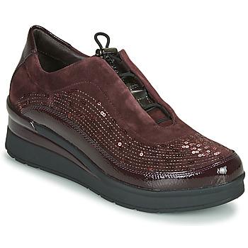 Zapatos Mujer Zapatillas bajas Stonefly CREAM 21 Burdeo