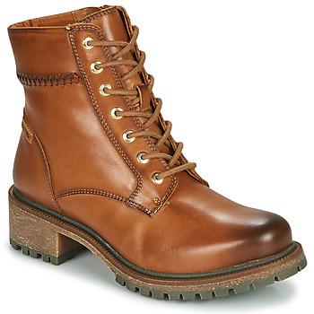 Zapatos Mujer Botas de caña baja Pikolinos ASPE W9Z Marrón