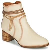 Zapatos Mujer Botines Pikolinos CALAFAT W1Z Beige / Marrón