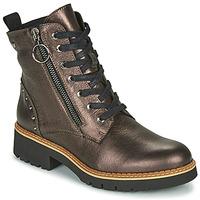 Zapatos Mujer Botas de caña baja Pikolinos VICAR W0V Plata