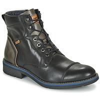 Zapatos Hombre Botas de caña baja Pikolinos YORK M2M Negro