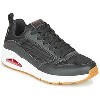 Zapatos Hombre Zapatillas bajas Skechers UNO FASTIME Negro