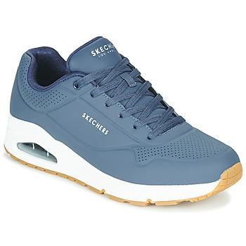 Zapatos Hombre Zapatillas bajas Skechers UNO STAND ON AIR Marino
