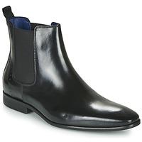Zapatos Hombre Botas de caña baja Azzaro JAGER Negro