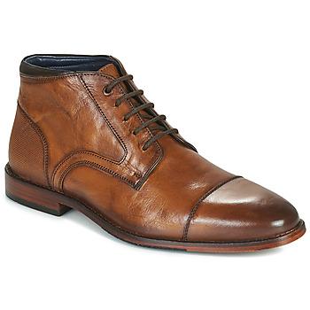 Zapatos Hombre Botas de caña baja Azzaro TELLIS Cognac