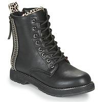 Zapatos Mujer Botas de caña baja Café Noir JAYTE Negro