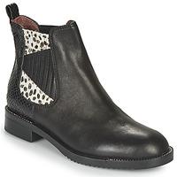Zapatos Mujer Botas de caña baja Café Noir JOYE Negro