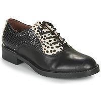 Zapatos Mujer Derbie Café Noir JEREL Negro / Blanco