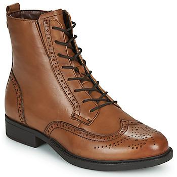 Zapatos Mujer Botas de caña baja Tamaris SUZAN Marrón