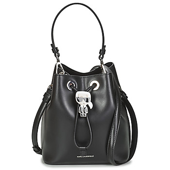 Bolsos Mujer Bolso para llevar al hombro Karl Lagerfeld K/IKONIK BUCKET BAG Negro