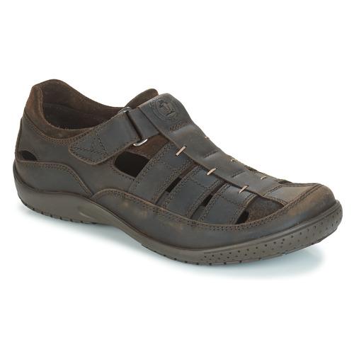 Zapatos especiales para hombres y mujeres Panama Jack MERIDIAN Marrón