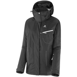 textil Mujer parkas Salomon Impulse jacket W Negro