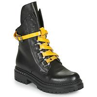 Zapatos Mujer Botas de caña baja Metamorf'Ose HADASSA Negro