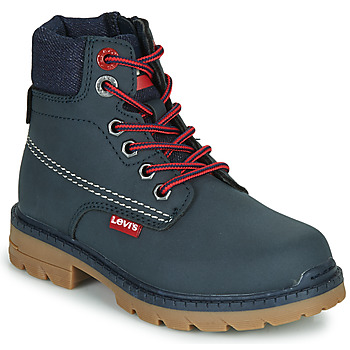 Zapatos Niños Botas de caña baja Levi's NEW FORREST Marino