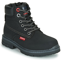 Zapatos Niños Botas de caña baja Levi's NEW FORREST Negro