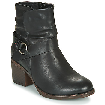 Zapatos Mujer Botines Emmshu FLEUR Negro