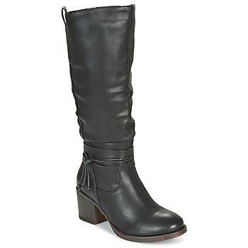 Zapatos Mujer Botas urbanas Emmshu FILI Negro