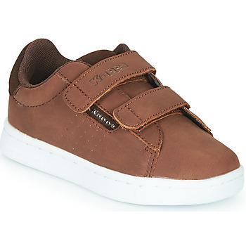 Zapatos Niño Zapatillas bajas Kappa TCHOURI 2V Marrón