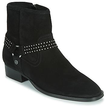 Zapatos Mujer Botas de caña baja Ikks BOOTS GAUCHO Negro