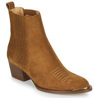 Zapatos Mujer Botines Ikks TIAG SUEDE Camel