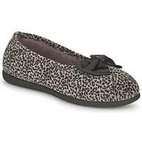 Zapatos Mujer Pantuflas Isotoner 97261 Leopardo