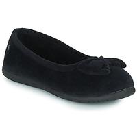Zapatos Mujer Pantuflas Isotoner 97258 Negro