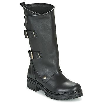 Zapatos Mujer Botas urbanas Musse & Cloud MARVIN Negro