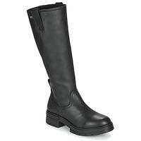 Zapatos Mujer Botas urbanas Musse & Cloud GEORGETE Negro