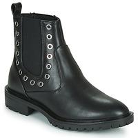 Zapatos Mujer Botas de caña baja Only ONLTINA 3 PU BOOT Negro