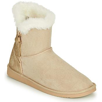 Zapatos Mujer Botas de caña baja Only BREEZE 1 ZIP BOOT Beige