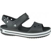 Zapatos Niños Sandalias Crocs Crocband Sandal Kids gris