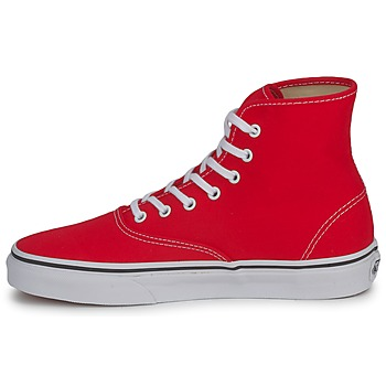 Vans AUTHENTIC HI Rojo