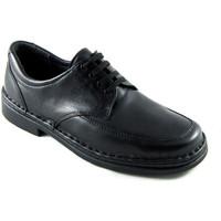 Zapatos Hombre Derbie Calzafarma Zapato farmacia cordones hombre ancho es negro