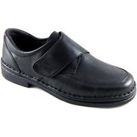 Zapatos Hombre Mocasín Calzafarma Zapato farmacia velcro hombre ancho espe negro