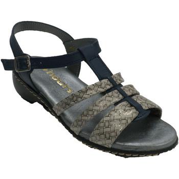 Zapatos Mujer Sandalias 48 Horas Sandalias mujer tiras azul