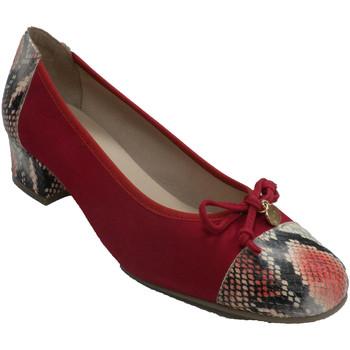 Zapatos Mujer Zapatos de tacón Roldán Zapato vestir mujer tipo manoletina rojo