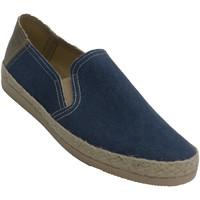 Zapatos Hombre Alpargatas Made In Spain 1940 Zapatillas hombre cerrada ribete de cáña azul
