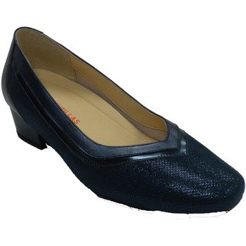 Zapatos Mujer Zapatos de tacón Doctor Cutillas Zapato mujer tipo salón azul