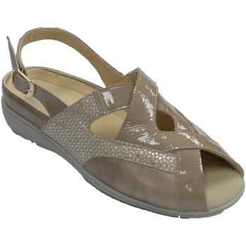 Zapatos Mujer Sandalias Doctor Cutillas Sandalias mujer especiales para plantill beige