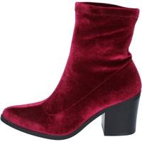 Zapatos Mujer Botines Fornarina botines terciopelo borgoña