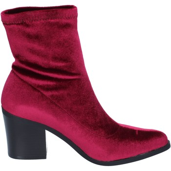 Fornarina botines terciopelo borgoña - Envío gratis    - Zapatos Botines Mujer 3999