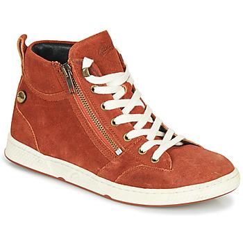 Zapatos Mujer Zapatillas altas Pataugas JULIA/CR F4F Ladrillo