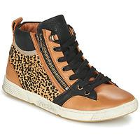 Zapatos Mujer Zapatillas altas Pataugas JULIA/PO F4F Cognac / Leopardo